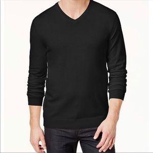 ALFANI V-Neck Sweater